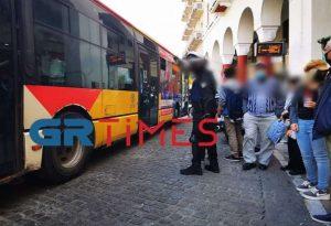 Κορωνοϊός – Θεσ/νίκη: Έλεγχοι της ΕΛ.ΑΣ σε λεωφορεία και στάσεις
