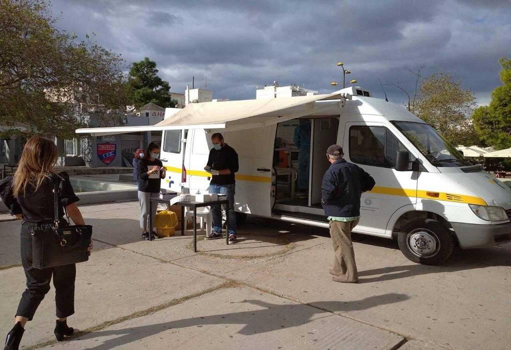 Κορωνοϊός: Τι έδειξαν τα rapid test στη Νέα Σμύρνη