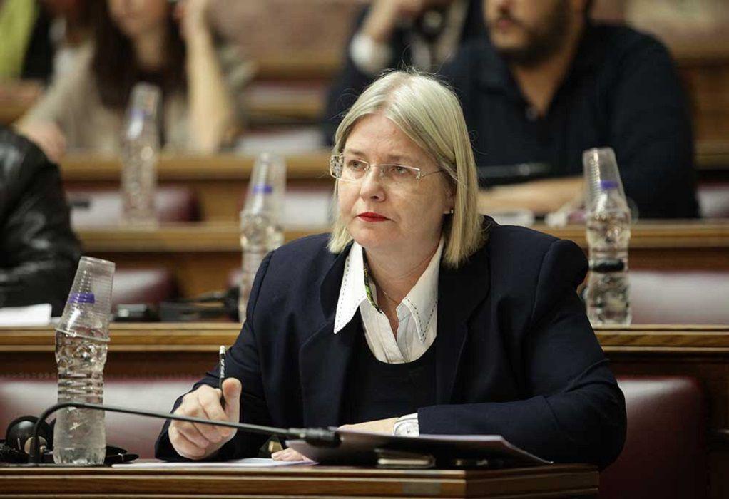 Εκδόθηκε το ΦΕΚ ανάκλησης διορισμού της Ζαρούλια