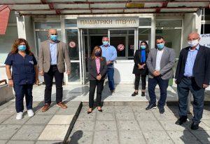 Θεσσαλονίκη: Ψυχιατρικές δομές επισκέφτηκε η Ράπτη