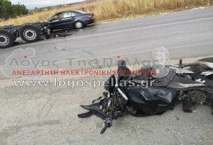 Πέλλα: Νεκρός 23χρονος μοτοσικλετιστής σε τροχαίο