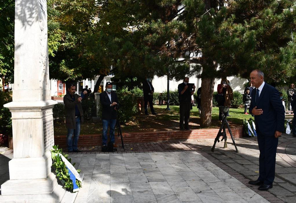 Καράογλου από Γρεβενά: Η ελευθερία θέλει αρετή, τόλμη και ομοψυχία