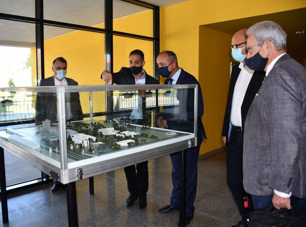 Επίσκεψη Θ. Καράογλου στο τεχνολογικό πάρκο Βουλγαρίας