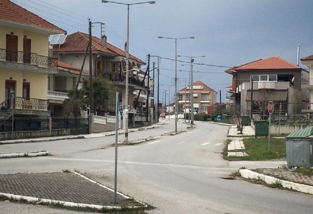 Έρημη πόλη η Καστοριά – Έλεγχοι της ΕΛΑΣ (ΦΩΤΟ-VIDEO)