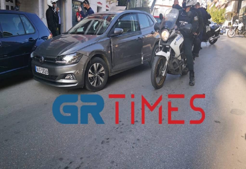 Επεισοδιακή καταδίωξη στη Θεσσαλονίκη – Τρεις συλλήψεις (ΦΩΤΟ+VIDEO)