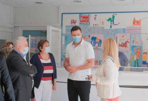 Στο Γενικό Νοσοκομείο Παίδων Πεντέλης ο Κικίλιας (ΦΩΤΟ)