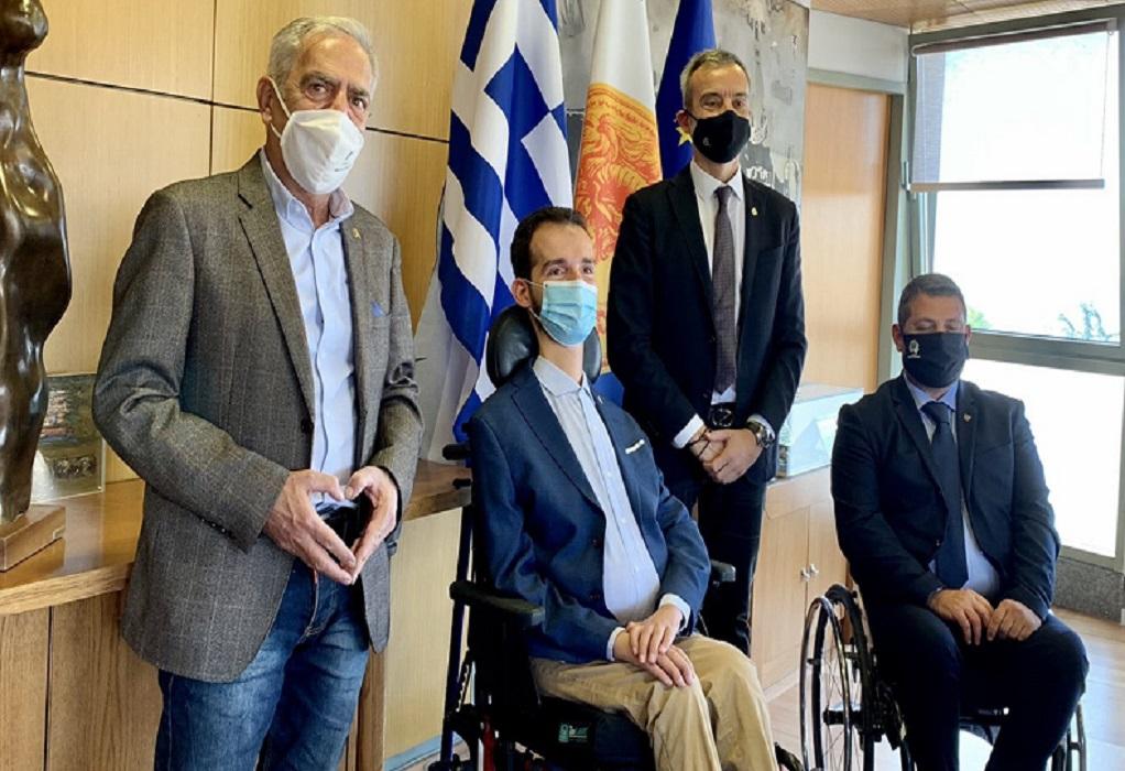 Συνάντηση Κυμπουρόπουλου με τον Δήμαρχο Θεσσαλονίκης