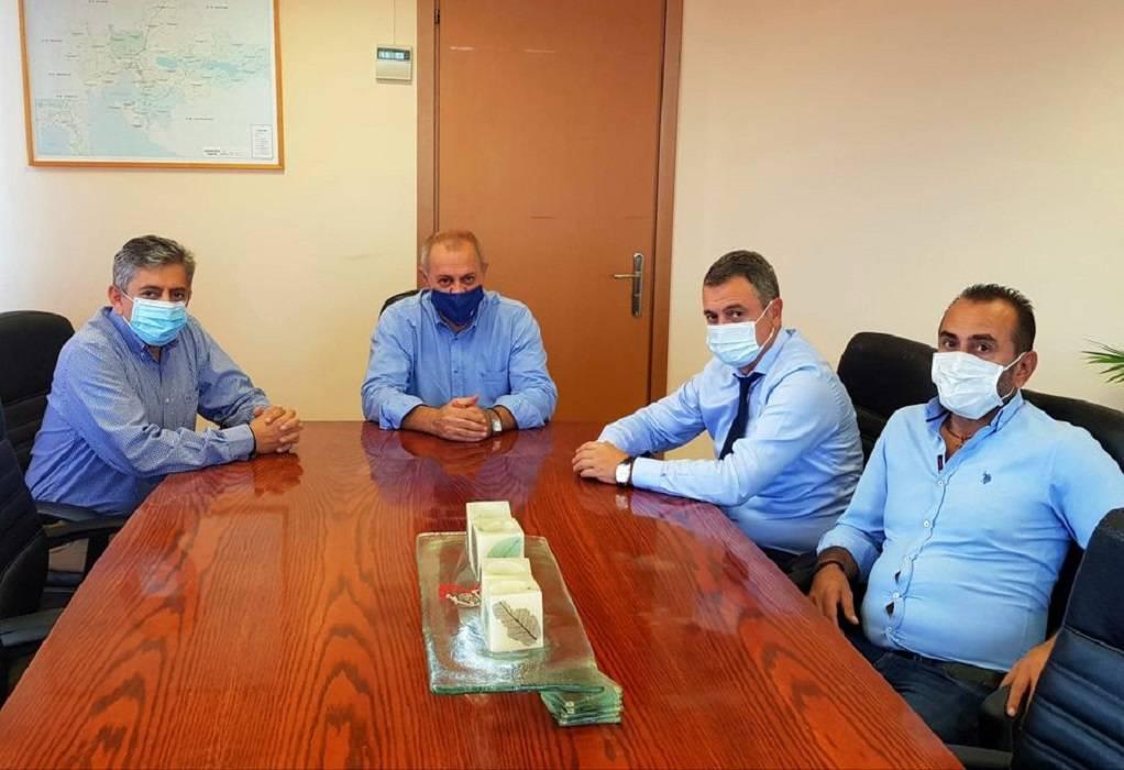 Λαγκαδάς: Τι συζήτησε ο δήμαρχος με τον διοικητή της 3ης ΥΠΕ.