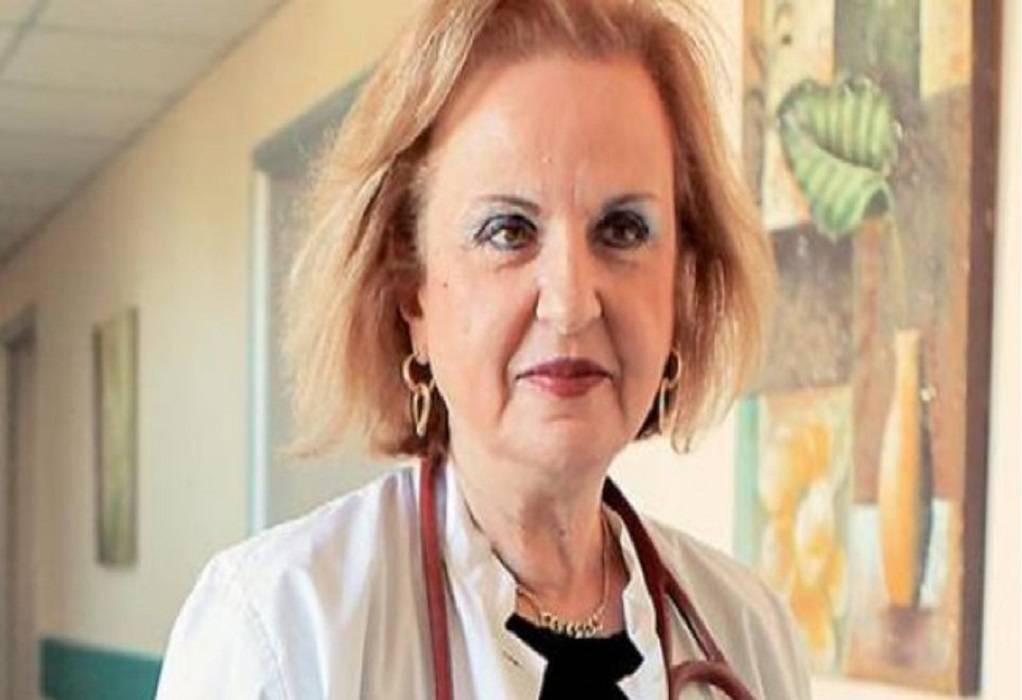 Παγώνη: Σταδιακά η μείωση νοσηλευομένων με κορωνοϊό