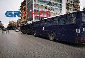 Θεσ/νίκη: Δρακόντεια μέτρα ασφαλείας για τον Κ. Μητσοτάκη (ΦΩΤΟ-VIDEO)