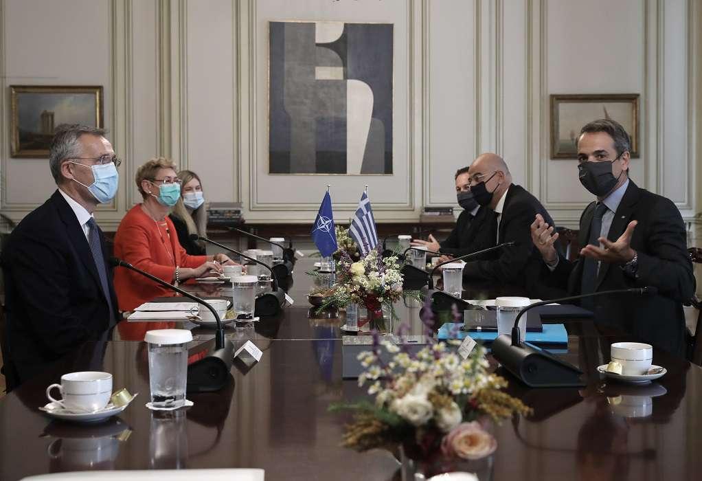 Μητσοτάκης: Το θέμα της Τουρκίας αφορά όλους τους εταίρους του ΝΑΤΟ (VIDEO)