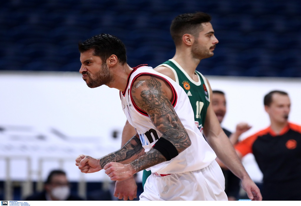 Euroleague: Νικητής ο Ολυμπιακός, 78-71 τον Παναθηναϊκό στο ΟΑΚΑ