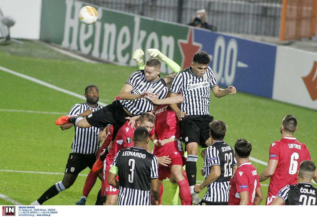 Europa League: Κακή πρεμιέρα για τον ΠΑΟΚ, 1-1 με την Ομόνοια