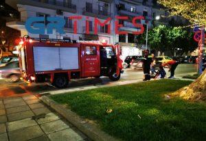 Παράσυρση γυναίκας στο κέντρο της Θεσσαλονίκης (ΦΩΤΟ+VIDEO)