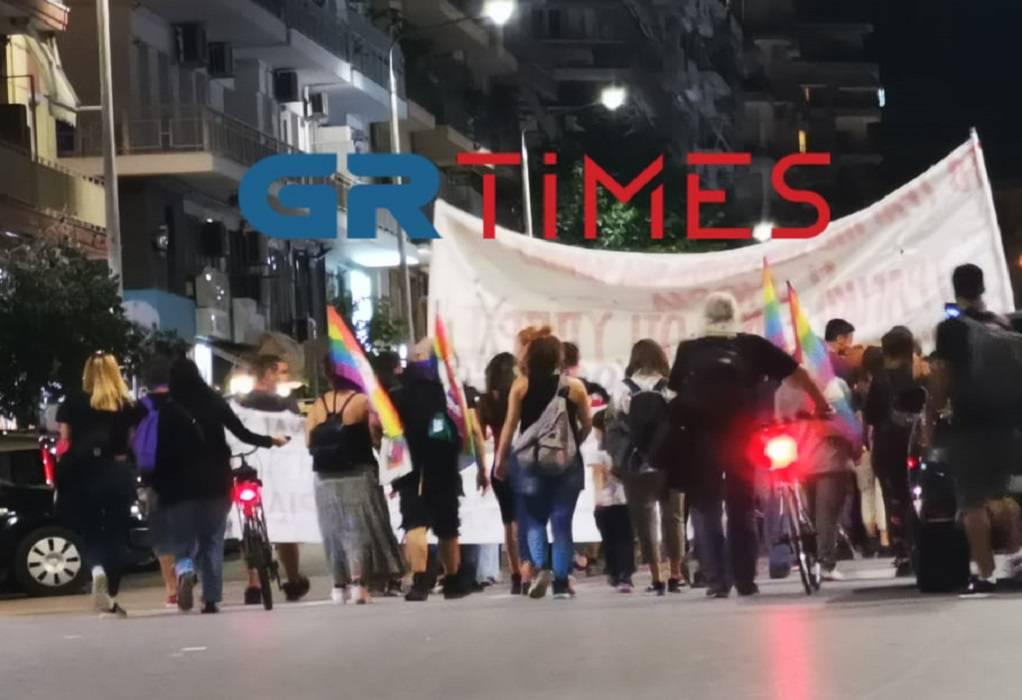 Θεσ/νίκη: Πορεία αλληλεγγύης για τους πρόσφυγες της Μόριας