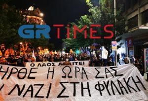 Θεσσαλονίκη: Αντιφασιστική πορεία από το ΠΑΜΕ (ΦΩΤΟ-VIDEO)
