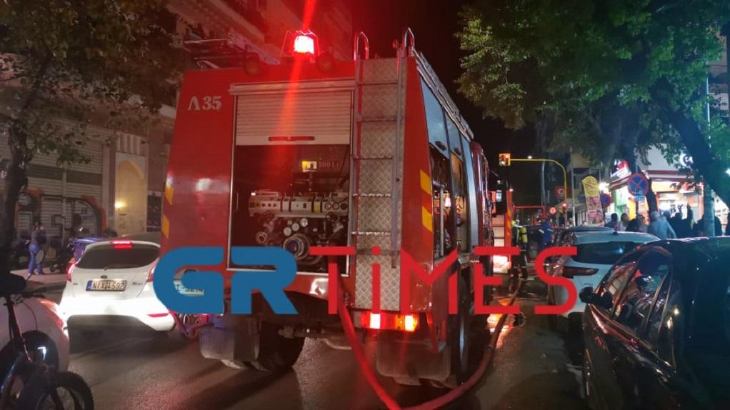 Θεσσαλονίκη: Φωτιά σε εγκαταλελειμμένη μονοκατοικία