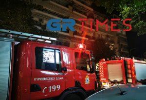 Θεσσαλονίκη: Συναγερμός για πυρκαγιά σε διαμέρισμα (ΦΩΤΟ-VIDEO)