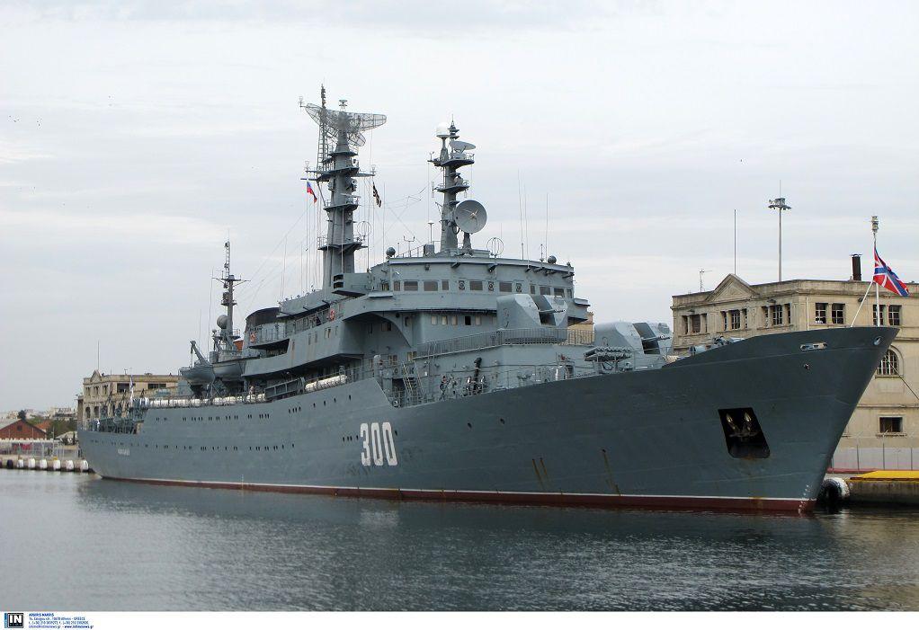 Στο λιμάνι Θεσ/νίκης το εκπαιδευτικό πλοίο «Smolny» του Ρωσικού Πολεμικού Ναυτικού