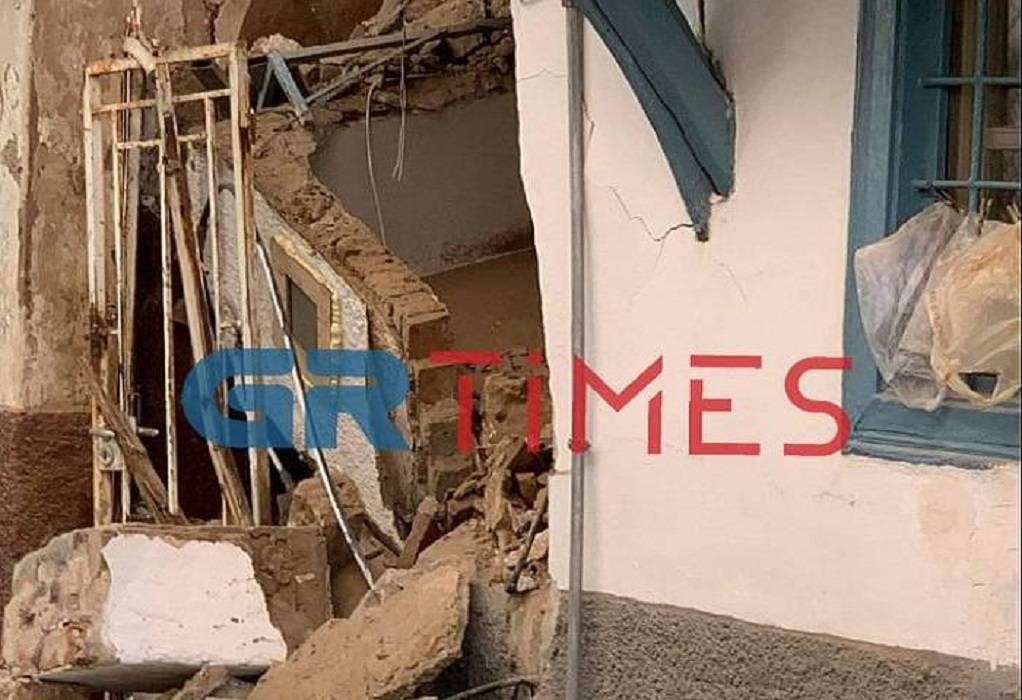 Μεγάλες οι καταστροφές στη Σάμο (ΦΩΤΟ-VIDEO)