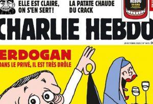 Τουρκία: Έξαλλη με τον ημίγυμνο Ερντογάν του Charlie Hebdo (ΦΩΤΟ)