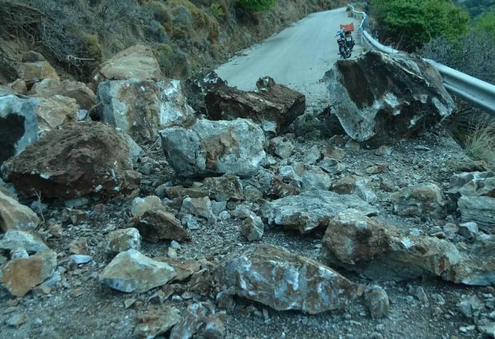 Γιάννενα: Κατολισθήσεις από την έντονη βροχόπτωση