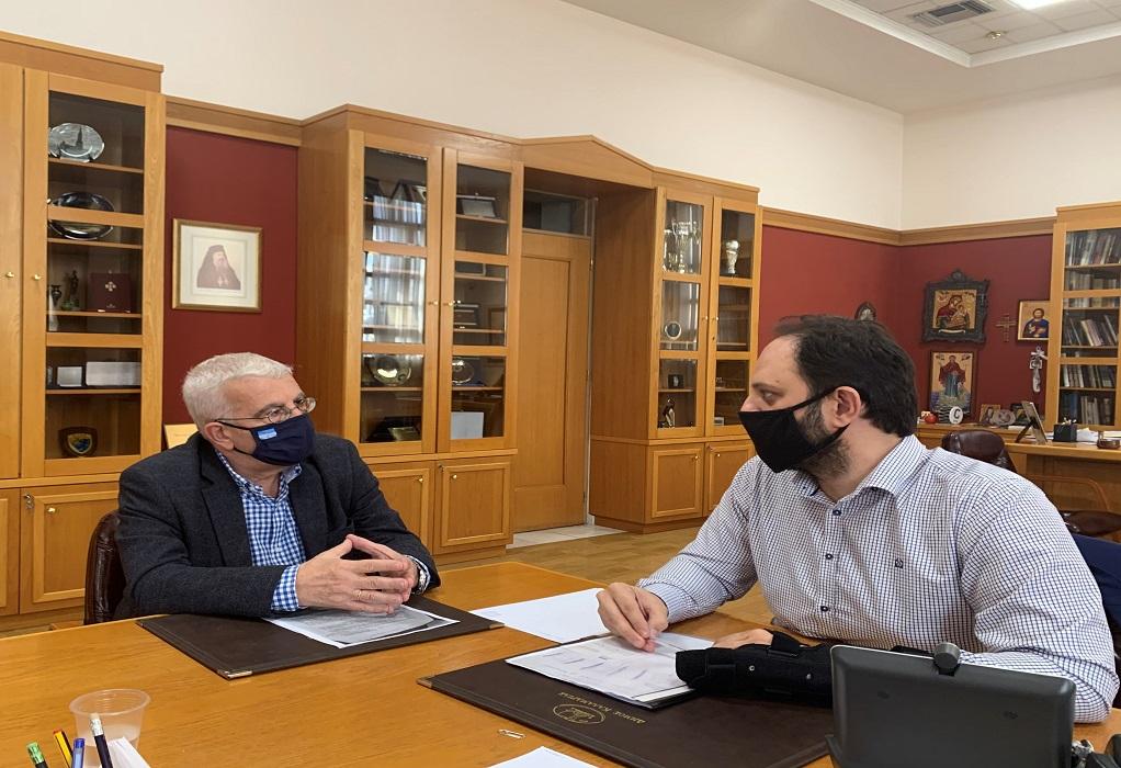 Σιμόπουλος- Δαρδαμανέλης: Συζήτηση για τα ανταλλάξιμα κτήματα στην Καλαμαριά