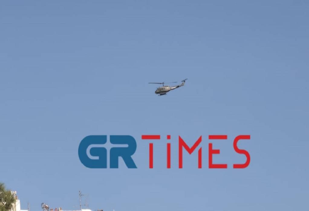 Μαχητικά αεροσκάφη στον ουρανό της Θεσσαλονίκης (ΦΩΤΟ+VIDEO)