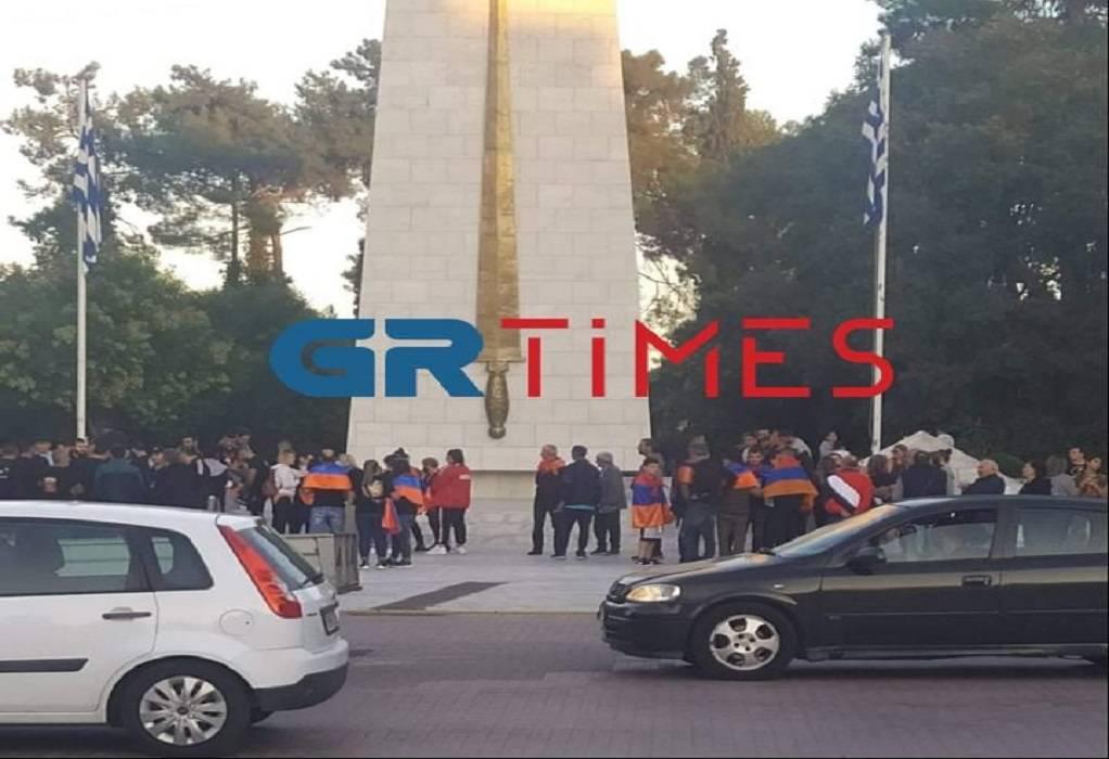 Κομοτηνή: Συγκέντρωση Αρμενίων για το Ναγκόρνο-Καραμπάχ (ΦΩΤΟ-VIDEO)