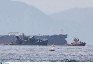 Σύγκρουση πλοίων: Συνελήφθη ο καπετάνιος του εμπορικού πλοίου