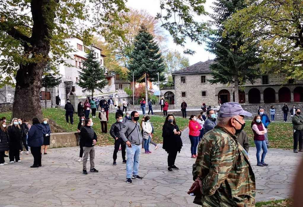 Κορωνοϊός: Τι έδειξαν τα rapid τεστ στο Μέτσοβο