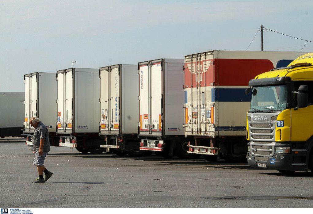 Μήδεια – Θεσ/νίκη: Προσωρινή απαγόρευση διέλευσης φορτηγών άνω των 3,5 τόνων