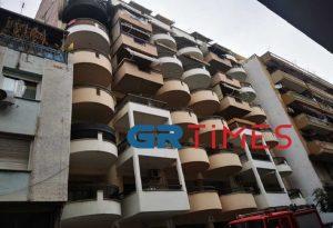 Θεσσαλονίκη: Φωτιά σε μπαλκόνι διαμερίσματος (ΦΩΤΟ)