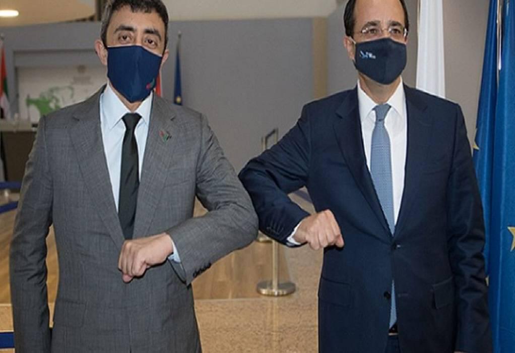 Σύντομα η πρώτη τριμερής συνάντηση Κύπρου – Ελλάδας – ΗΑΕ