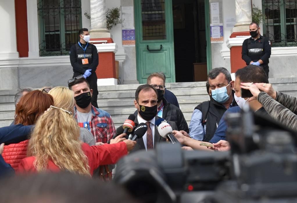 Αλ. Χρυσάφης: Εισαγόμενη η διασπορά covid στις Σέρρες (ΗΧΗΤΙΚΟ)