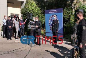 Χρυσοχοΐδης από Θεσσαλονίκη: Θα είμαστε παρόντες σε κάθε πλατεία και αγορά (VIDEO)