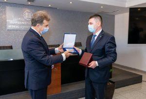 Συνάντηση Χρυσοχοΐδη με τον υπουργό Εσωτερικών Βουλγαρίας
