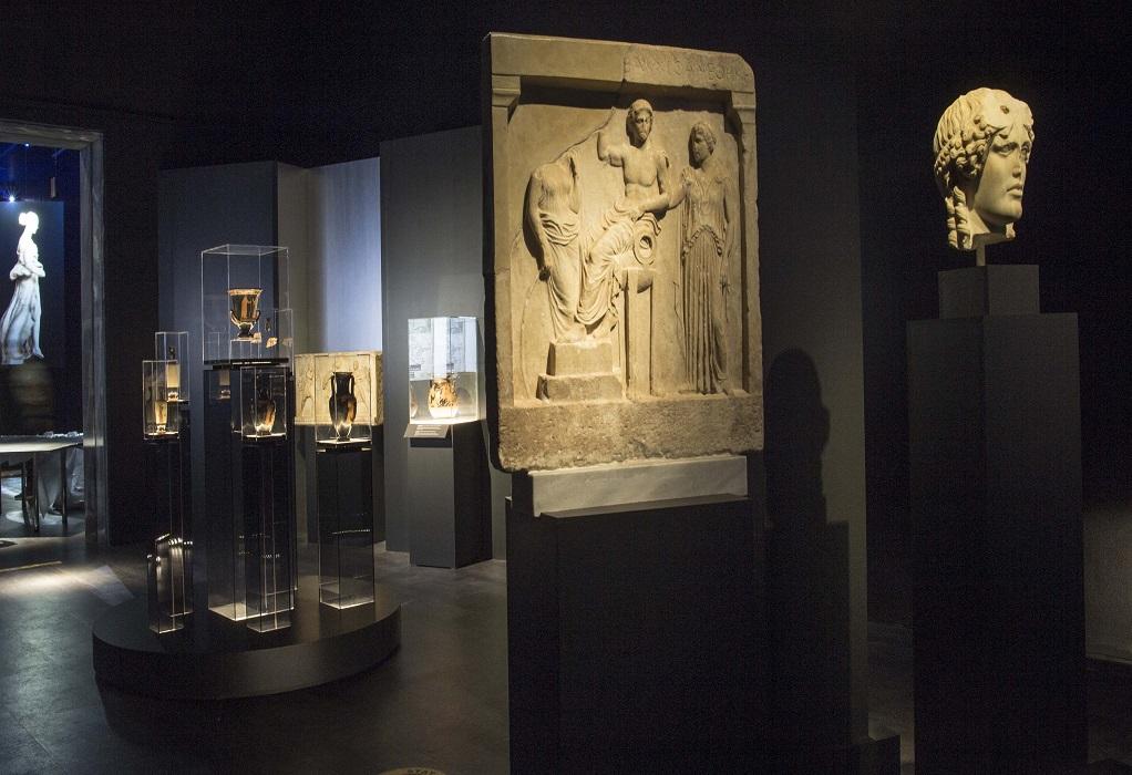Εγκαίνια για την περιοδική έκθεση του Αρχαιολογικού Μουσείου υπό την Μενδώνη (VIDEO)