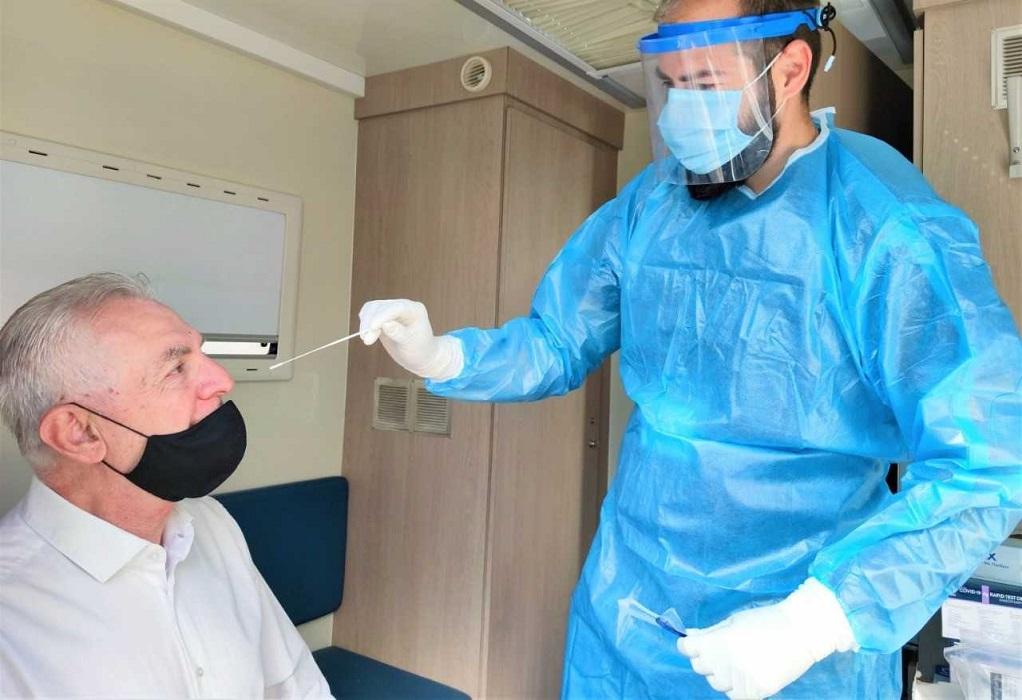 Δωρεάν rapid test στο Περιστέρι – Εντοπίστηκαν 31 κρούσματα