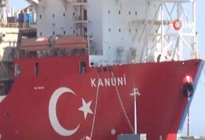 Το τουρκικό γεωτρύπανο «Kanuni» διέρχεται τα Δαρδανέλλια