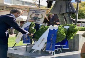 Ο Κ. Ζέρβας στις εκδηλώσεις για τον εορτασμό του Μακεδονικού Αγώνα
