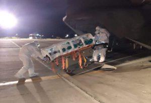 Αναχωρούν για Αθήνα τώρα οι 3 ασθενείς από τη Δράμα με C-130