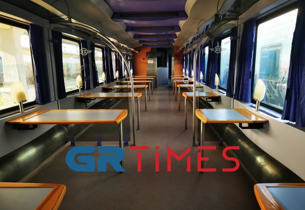 Το GRTimes μέσα στα βαγόνια που θα μεταφέρουν ασθενείς Covid (VIDEO)