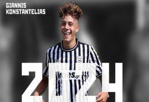 Παίκτης του ΠΑΟΚ έως το 2024 ο Γιάννης Κωνσταντέλιας