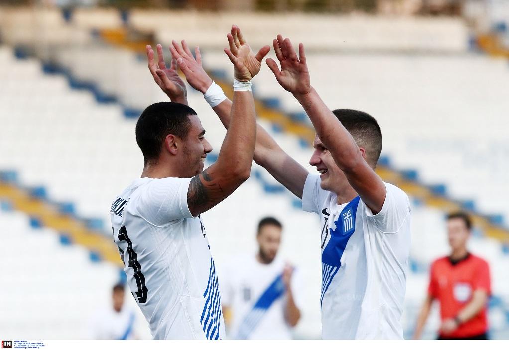 Φιλική νίκη (2-1) για την Εθνική Ελλάδος επί της Κύπρου (VIDEO)