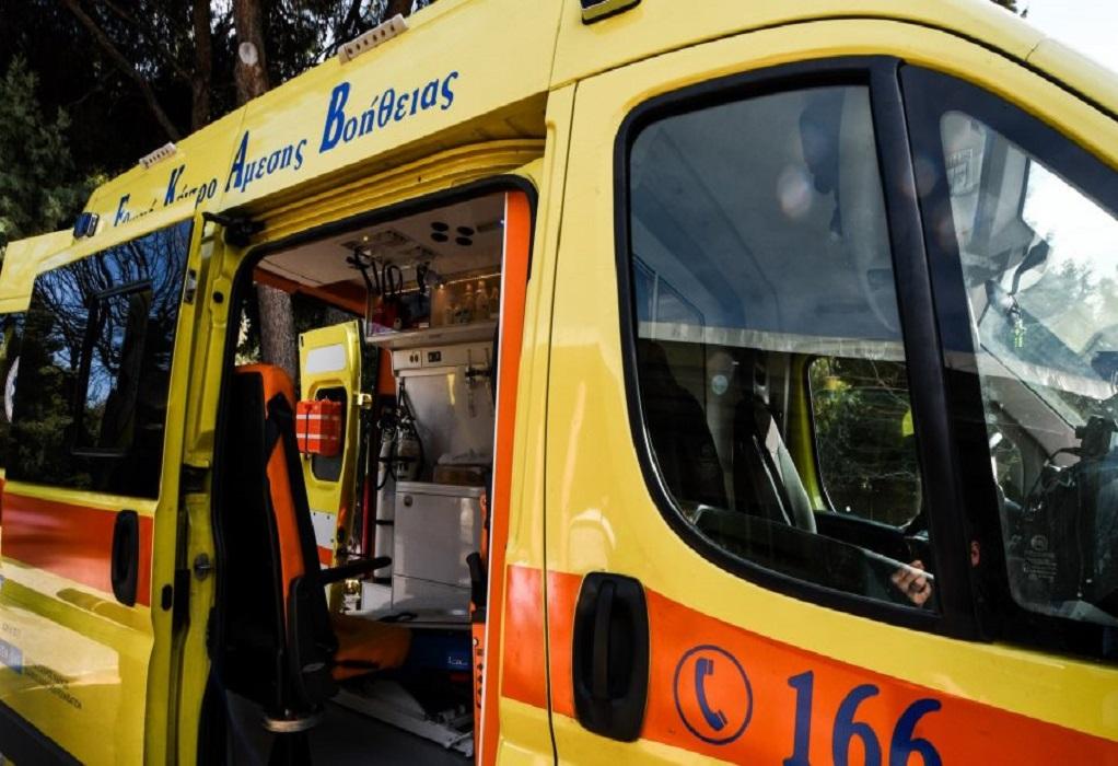 Σύγκρουση δύο αυτοκινήτων στο Πανόραμα – Ένας τραυματίας