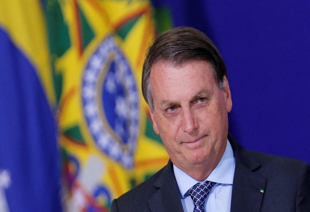 Κορωνοϊός-Βραζιλία: Ο Μπολσονάρου ανακοινώνει ότι δεν θα εμβολιαστεί