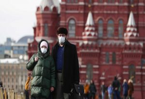 Κορωνοϊός-Ρωσία: 21.734 νέα κρούσματα και 586 νεκροί