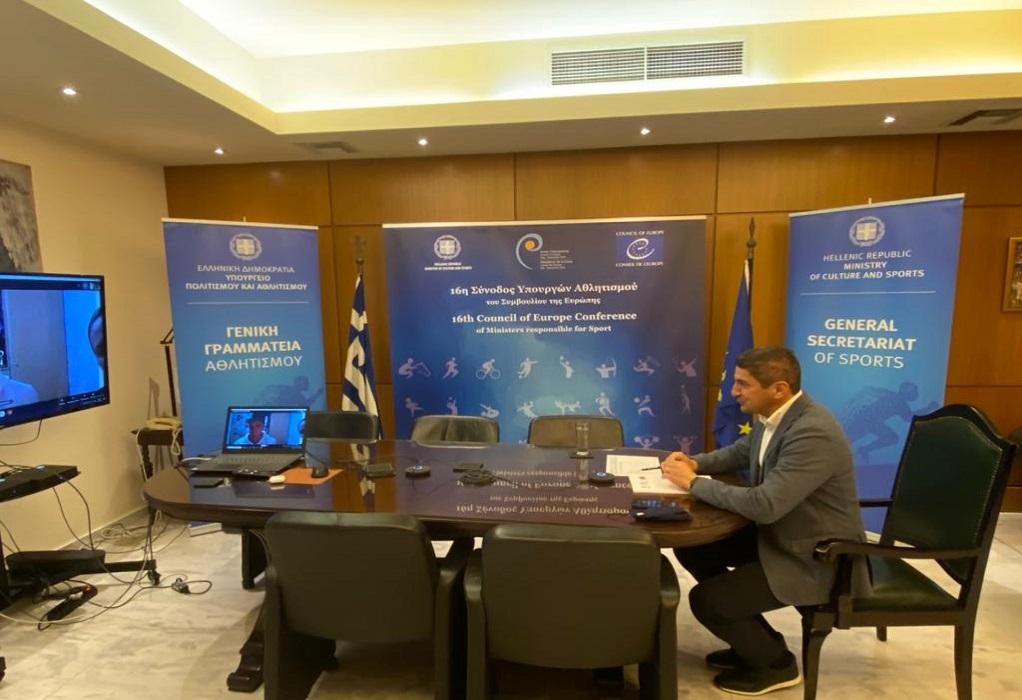 Αυγενάκης: Αναζητείται τρόπος ένταξης των ερασιτεχνών αθλητών στα μέτρα ενίσχυσης