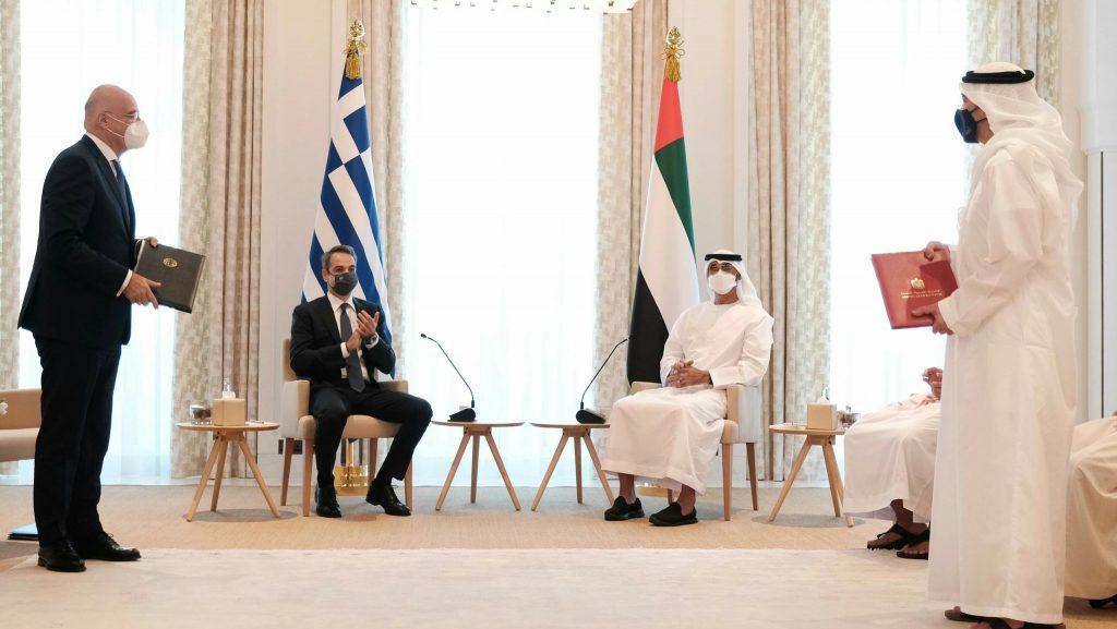 Δένδιας: Οι σχέσεις Ελλάδας-ΗΑΕ αναβαθμίζονται σε στρατηγικό επίπεδο
